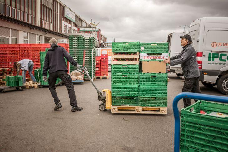 Logistik der Berliner Tafel